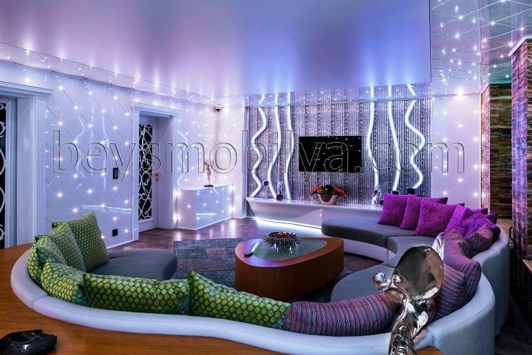 Akabe Mobilya San ve Tic. Ltd. Şti – Özel  Salon Dekorasyonu (Kişiye Özel Tasarım): modern tarz , Modern