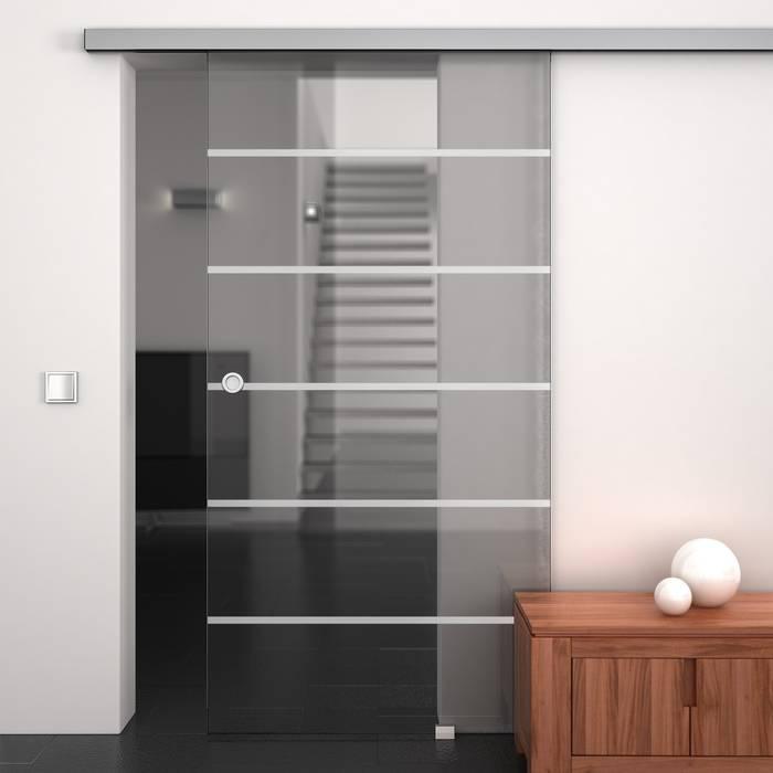 Puertas de vidrio de estilo  por Lionidas Design GmbH