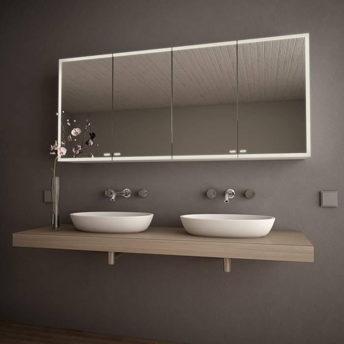 Spiegelschrank nach maß mit led \'credo\': badezimmer von lionidas ...