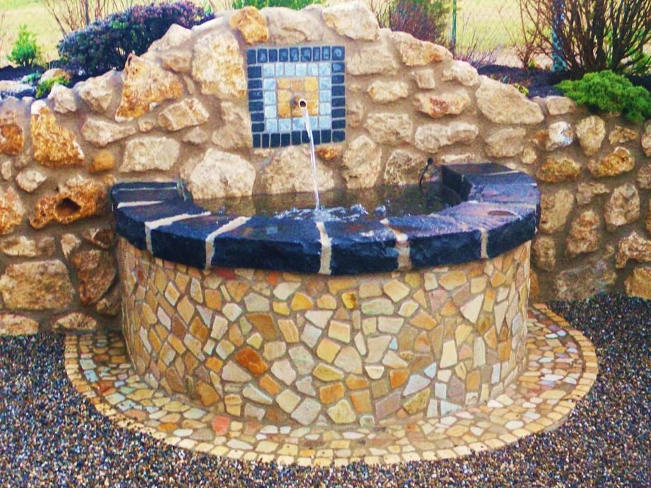 Brunnen Garten Von Neues Gartendesign By Wentzel Homify