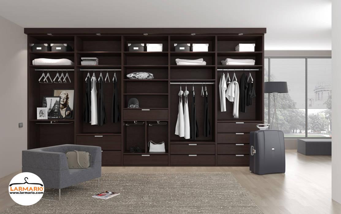 macarenaromero ห้องนอนWardrobes & closets