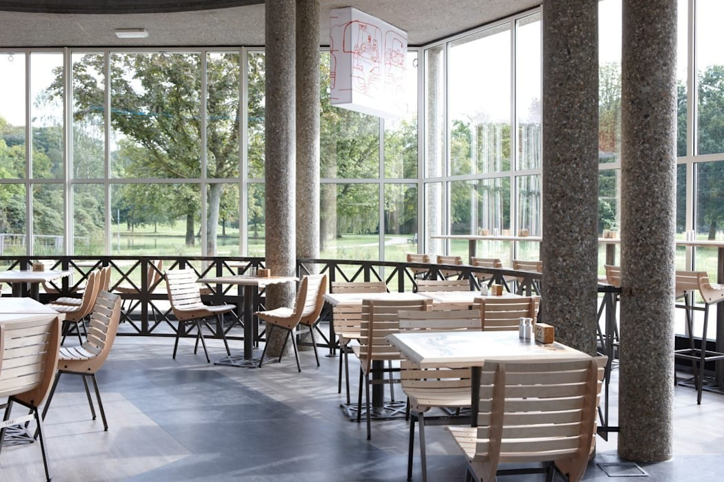 Interieur T Huis Industriële gastronomie van Design X Ambacht Industrieel