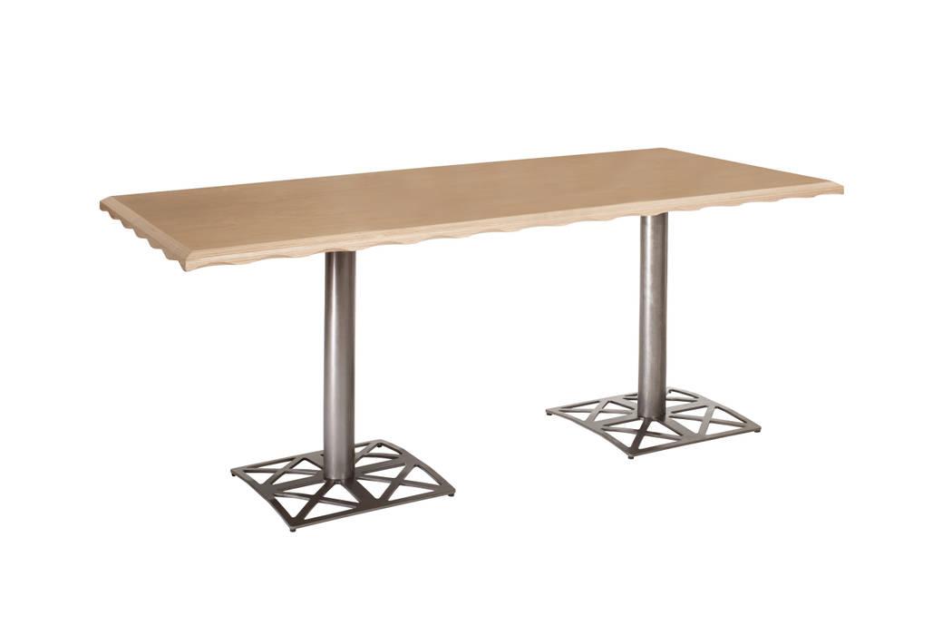 Grote tafel Industriële kantoorgebouwen van Design X Ambacht Industrieel