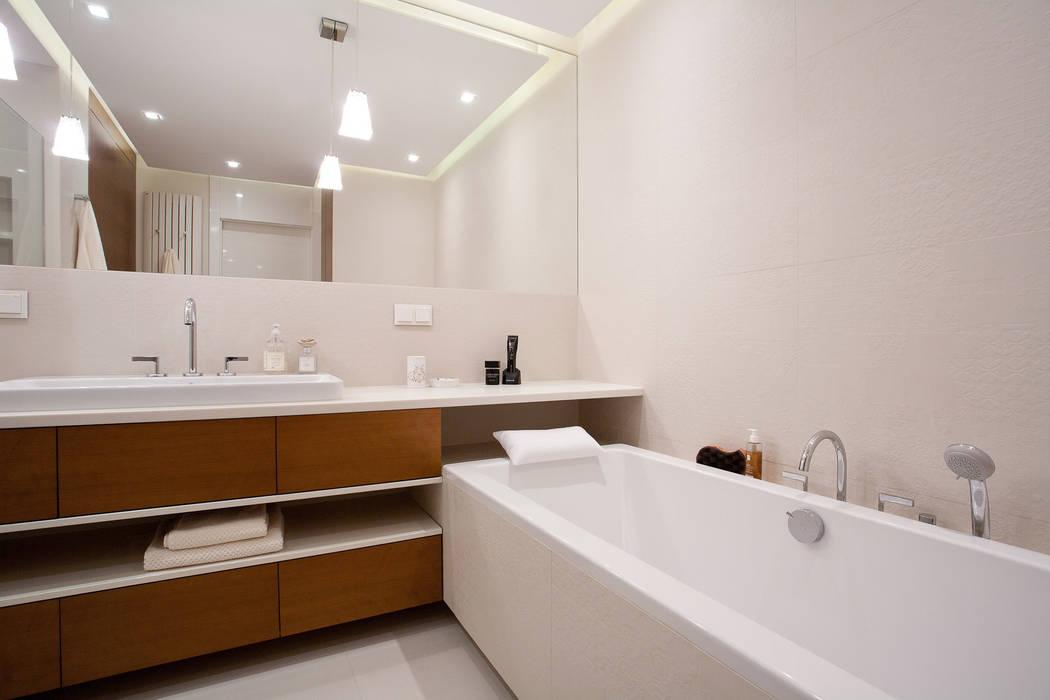 Łazienka Nowoczesna łazienka od ARCHISSIMA Nowoczesny