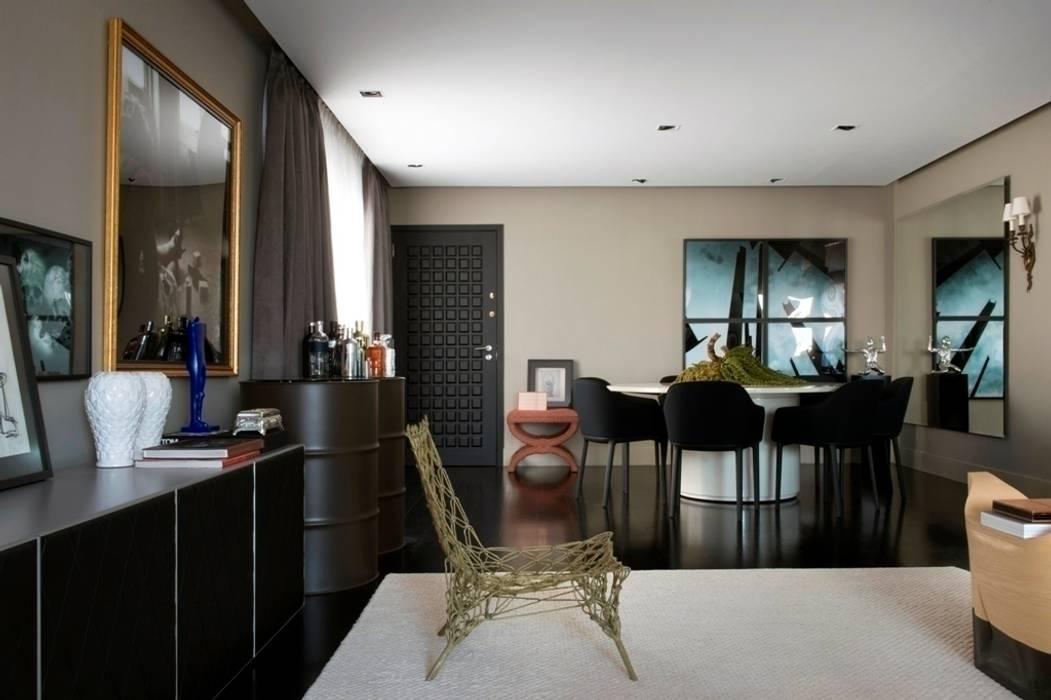 Salon de style  par Maurício Karam Arquitetura
