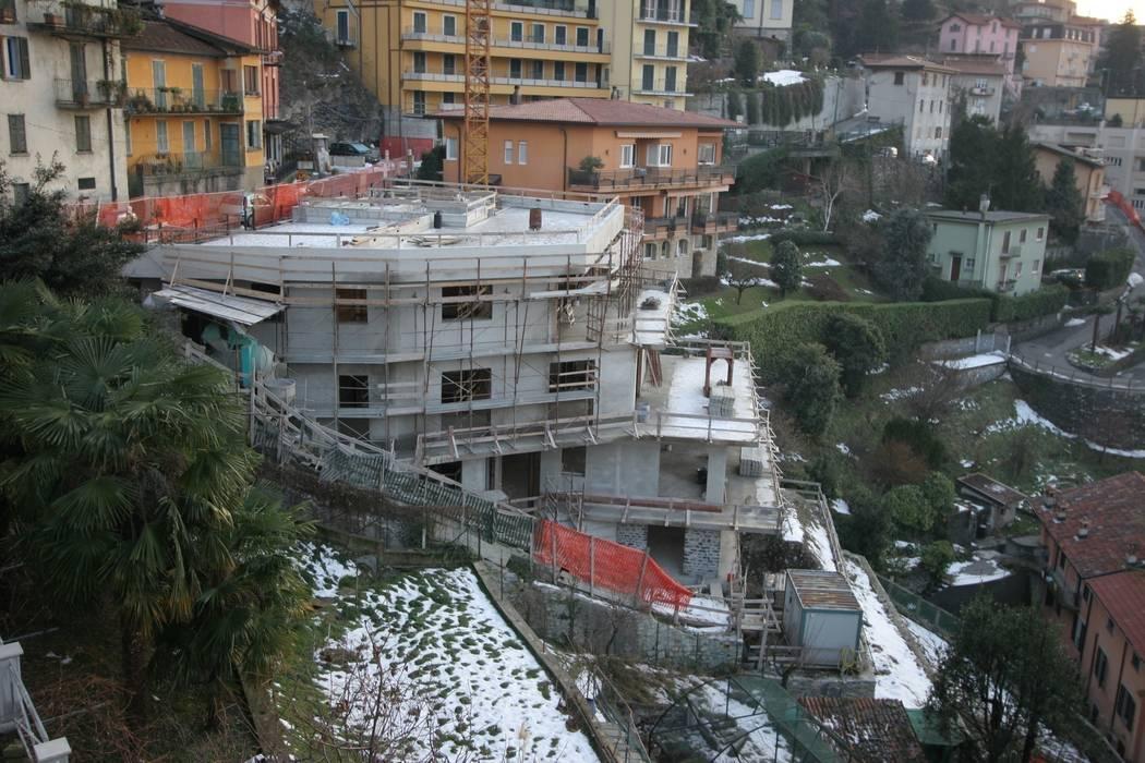 Private residence - Blevio Como Lake Archiluc's - Studio di Architettura Stefano Lucini Architetto Moderne Häuser