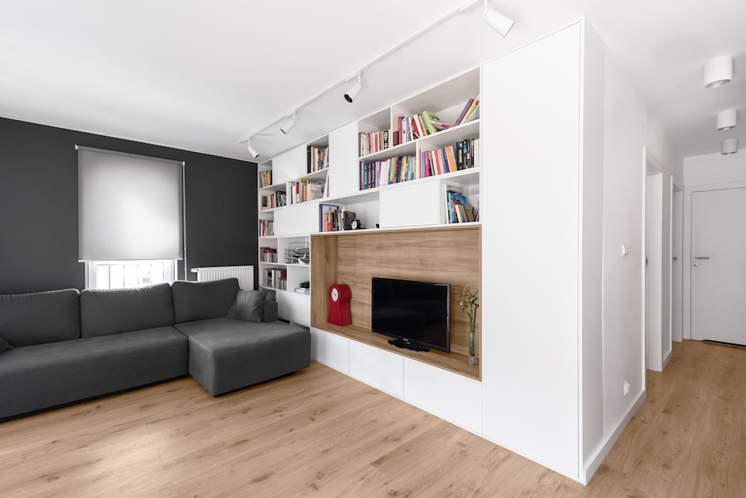 Living room by 081 architekci