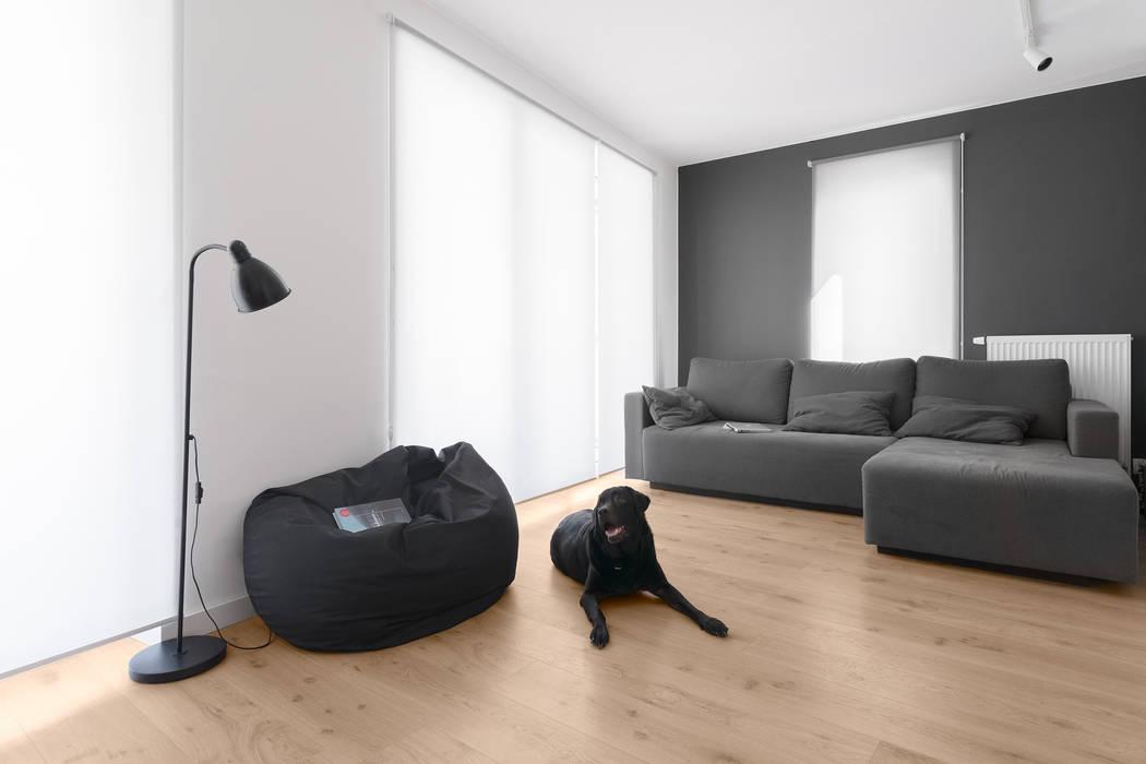 Salas de estilo minimalista de 081 architekci Minimalista