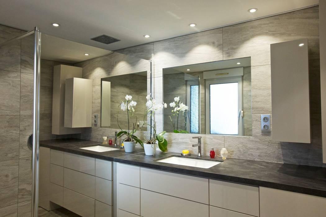 Salle de bain de bain contemporaine: salle de bains de style par ...