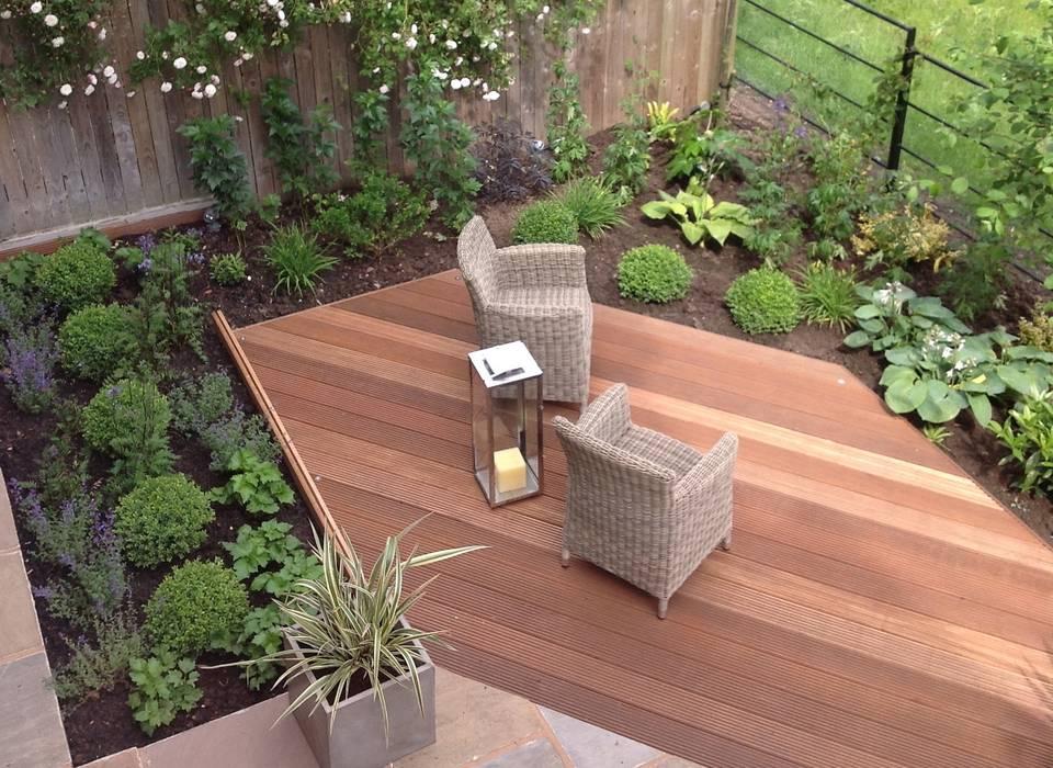 Newly planted garden by Dawn Garden Design