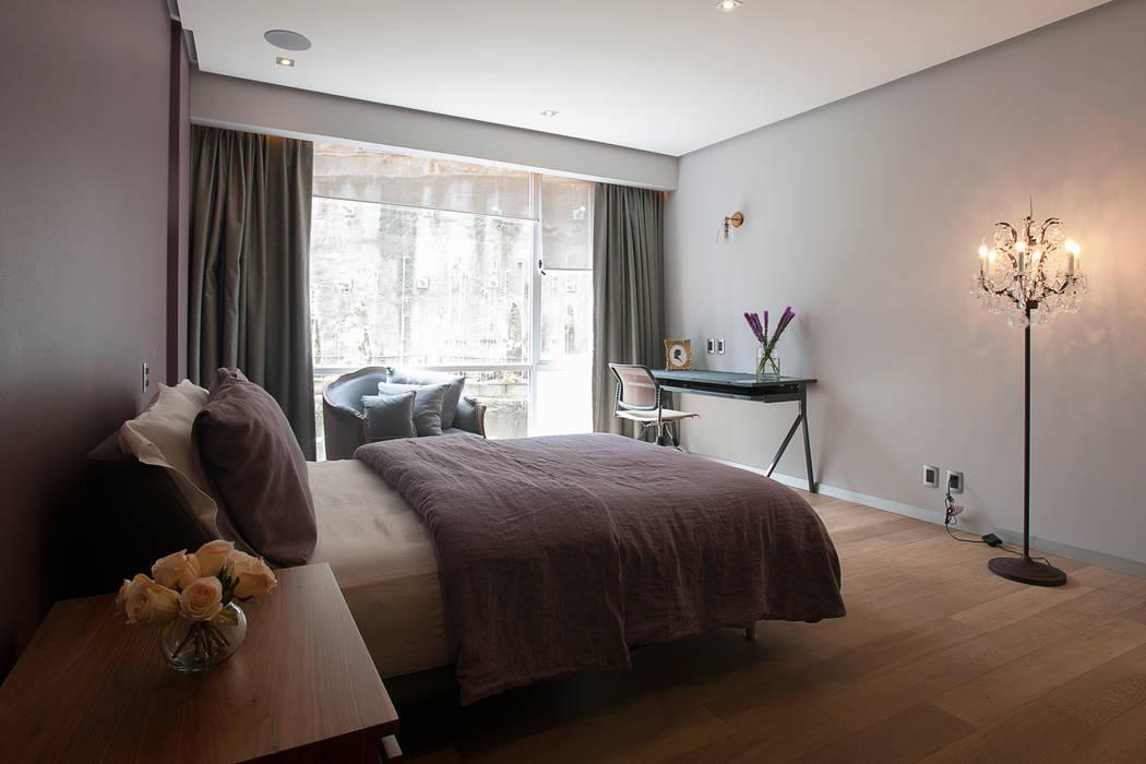 Departamento DL Dormitorios modernos de kababie arquitectos Moderno