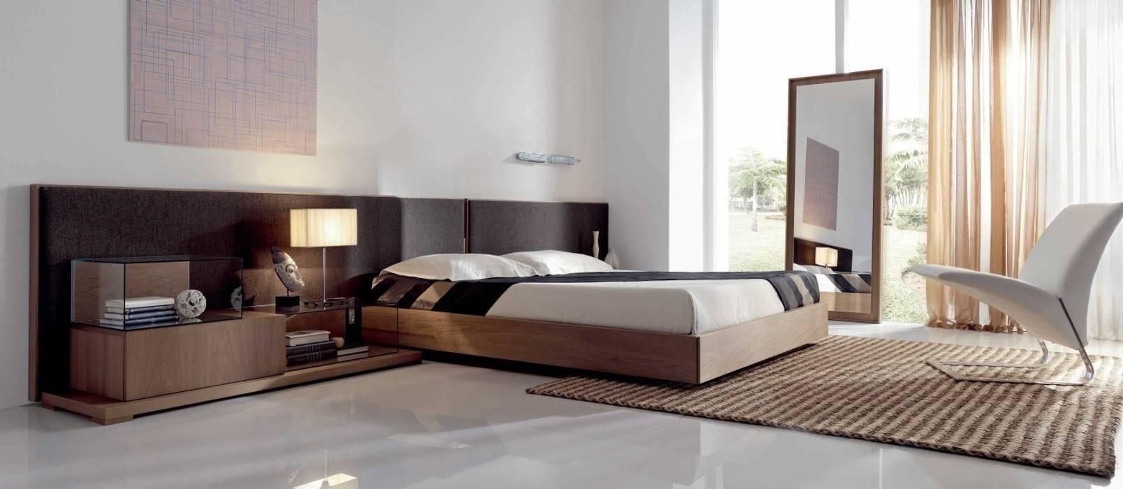 dormitorios de estilo por muebles begui homify