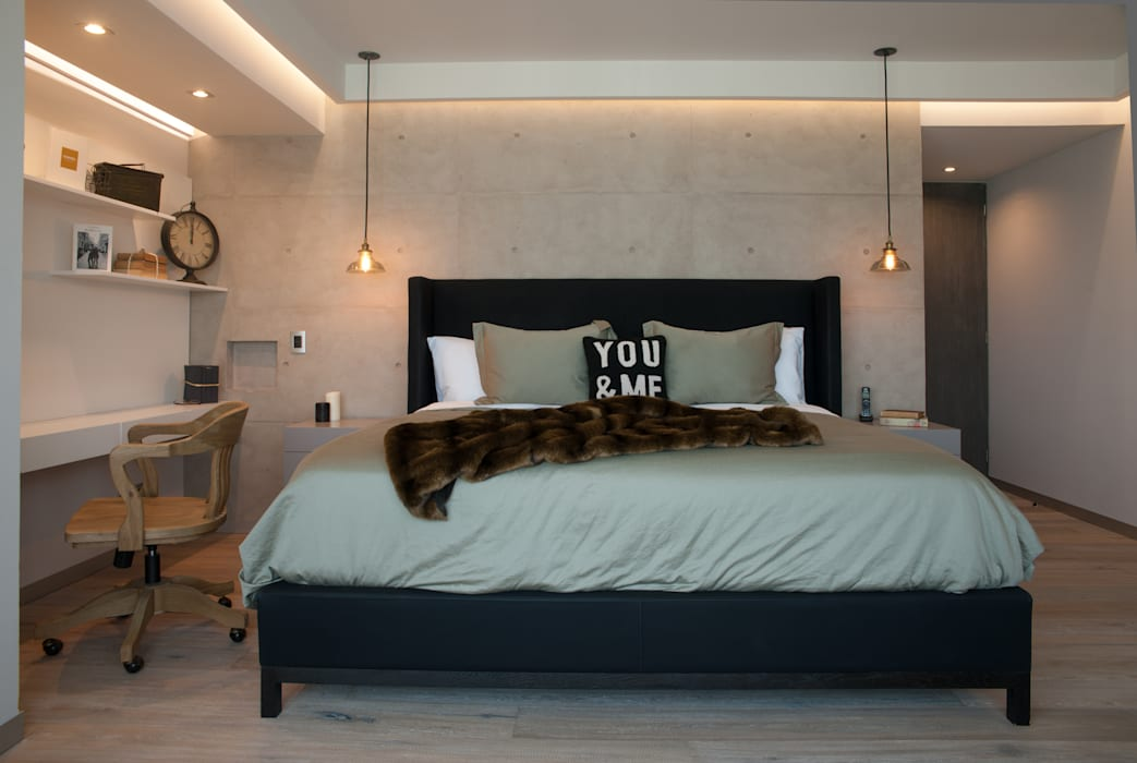 Dormitorios de estilo  de kababie arquitectos