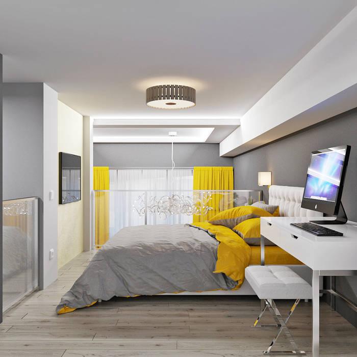 Dormitorios de estilo minimalista de Студия дизайна Interior Design IDEAS Minimalista