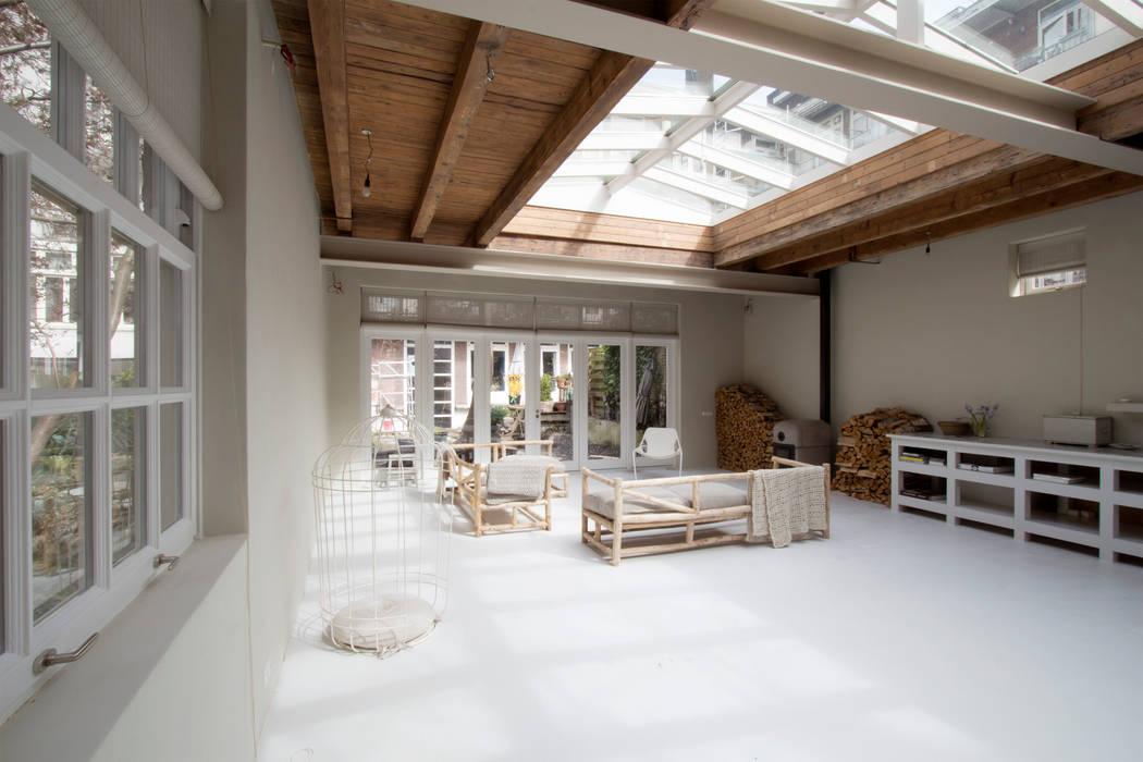 woonkamer Eclectische woonkamers van Architectenbureau Vroom Eclectisch