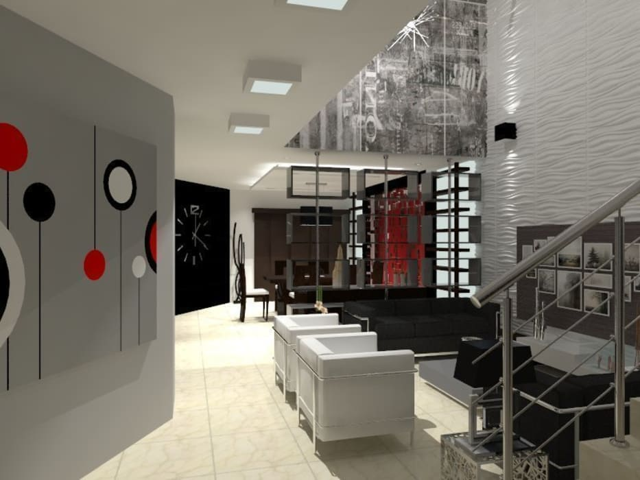 Modern Living Room by AurEa 34 -Arquitectura tu Espacio- Modern