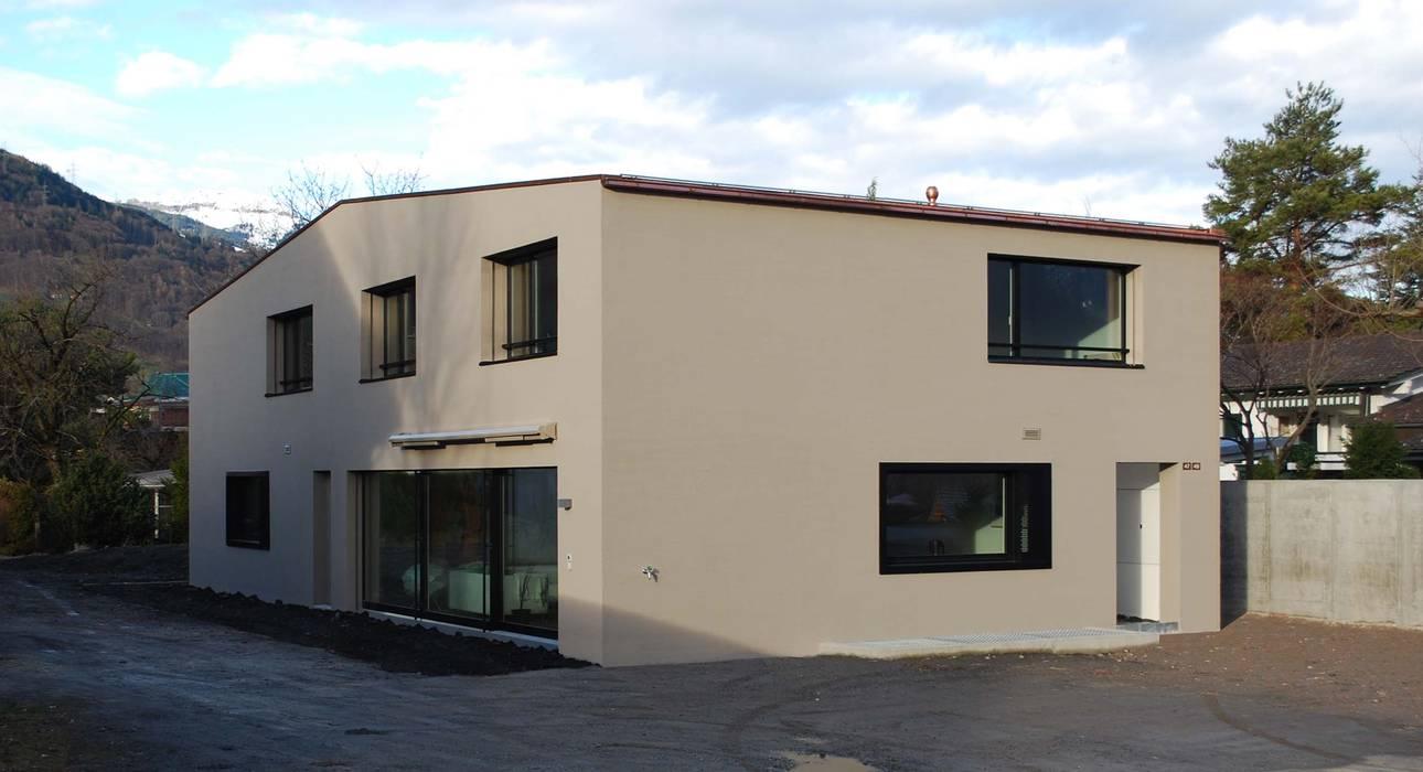 Marc Saladin Architekten GmbH Maisons minimalistes