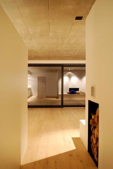 EFH Sarganserstrasse Marc Saladin Architekten GmbH Minimalistische Wohnzimmer