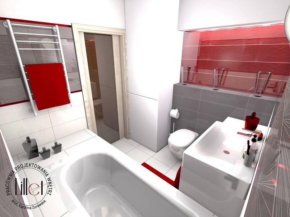 Łazienka Klasyczna łazienka od Pracownia projektowa Atelier Lillet Klasyczny