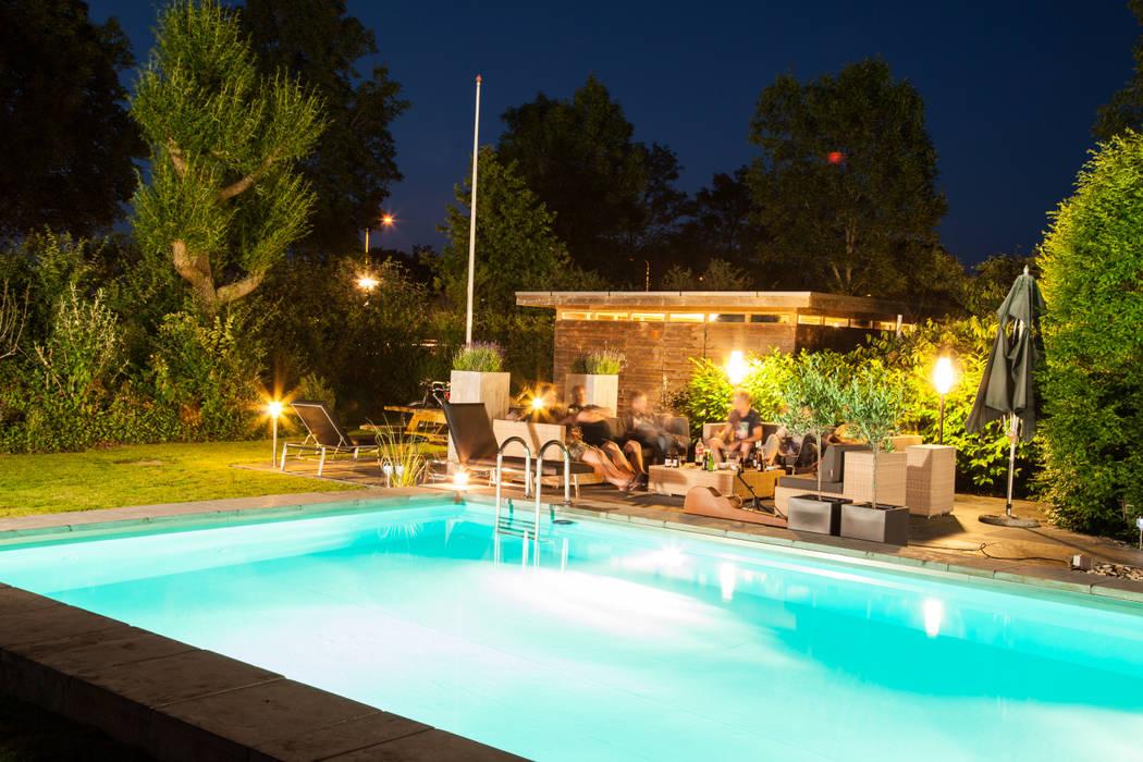 lounge Mediterrane balkons, veranda's en terrassen van Gernell Hoveniers Mediterraan