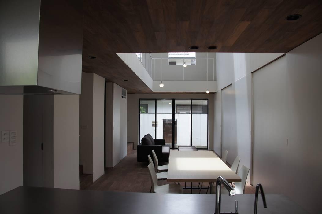 北前川のいえ オリジナルデザインの キッチン の CALL SPACE DESIGN オリジナル