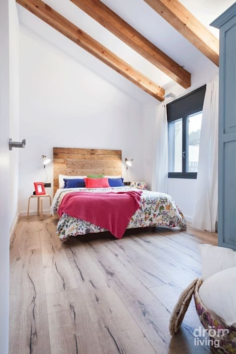 Scandinavian style bedroom by Dröm Living Scandinavian