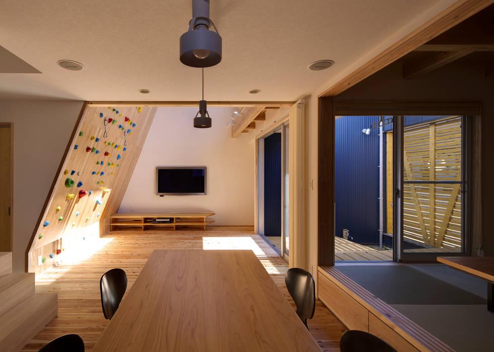 ダイニング オリジナルデザインの ダイニング の 有島忠男設計工房 オリジナル