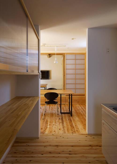 キッチン: 有島忠男設計工房が手掛けたキッチンです。