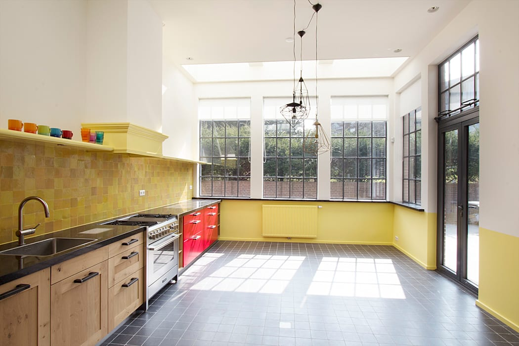 keuken Landelijke keukens van Architectenbureau Vroom Landelijk