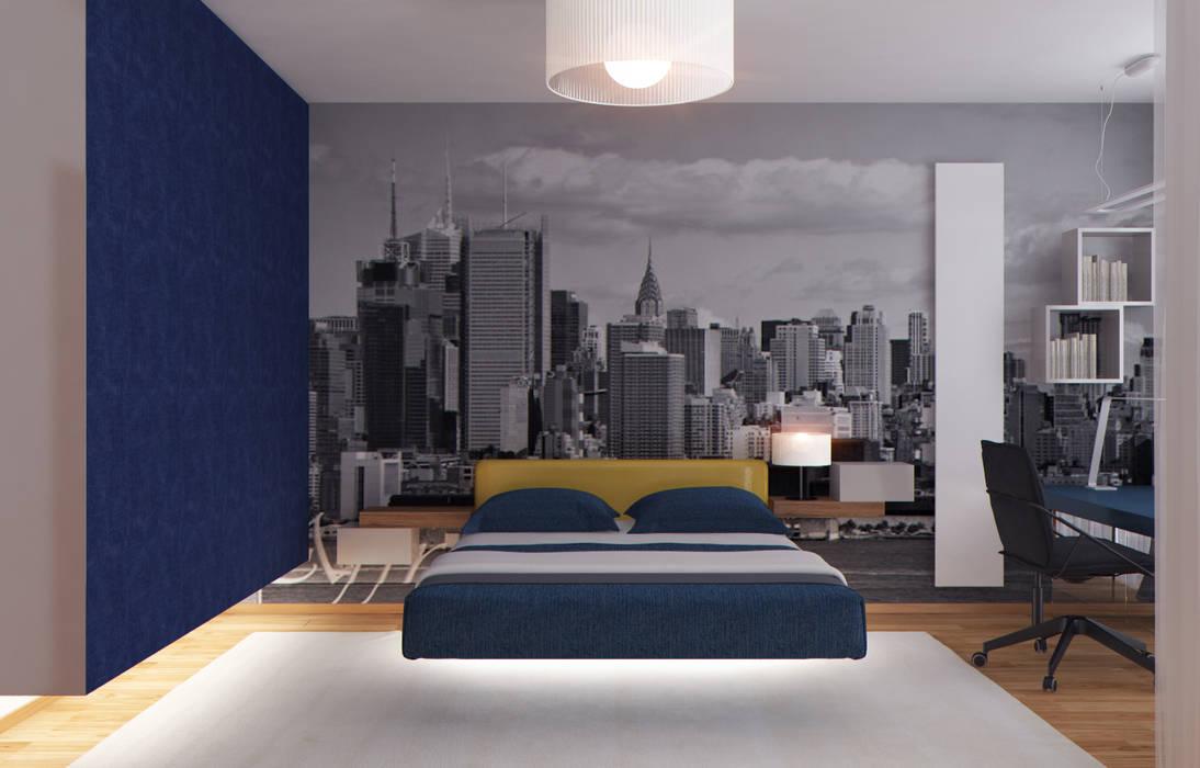 Спальная: Спальни в . Автор – ISDesign group s.r.o.,