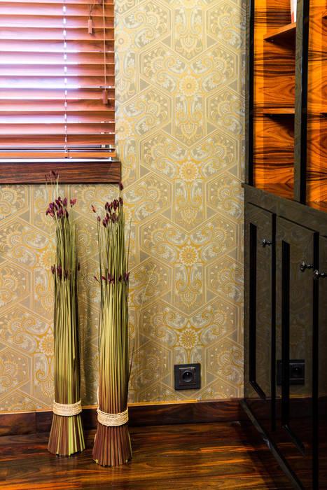 Biuro Eklektyczne domowe biuro i gabinet od Viva Design - projektowanie wnętrz Eklektyczny