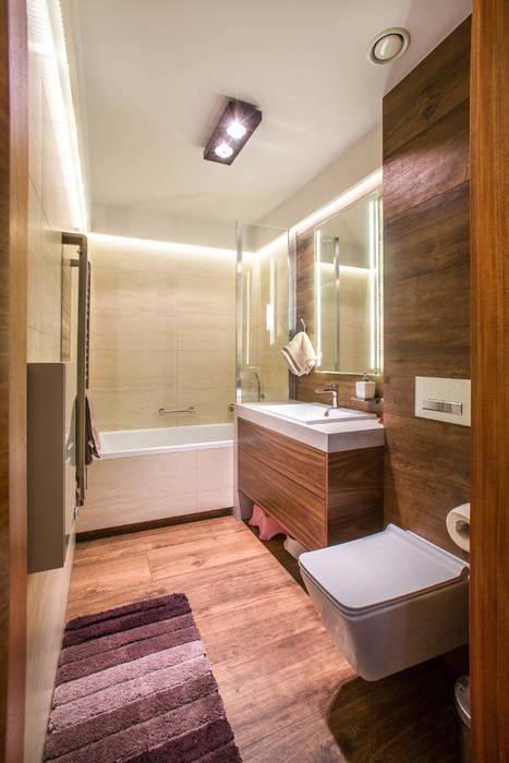 Łazienka dzieci: styl , w kategorii Łazienka zaprojektowany przez Viva Design - projektowanie wnętrz
