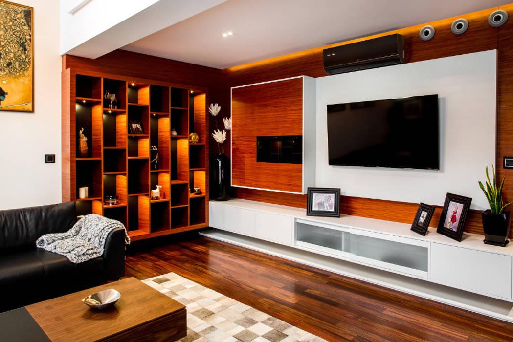 Salon: styl , w kategorii Salon zaprojektowany przez Viva Design - projektowanie wnętrz
