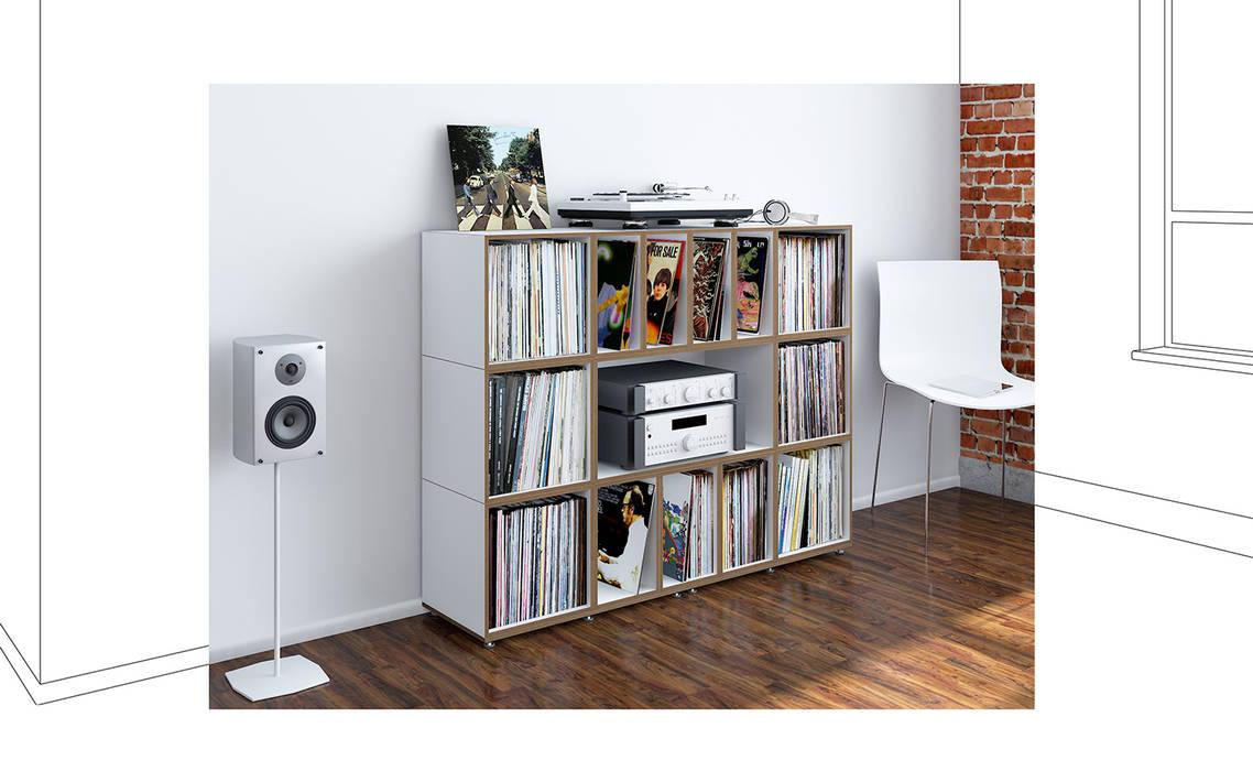de estilo  por stocubo - Das modulare Regalsystem, Moderno