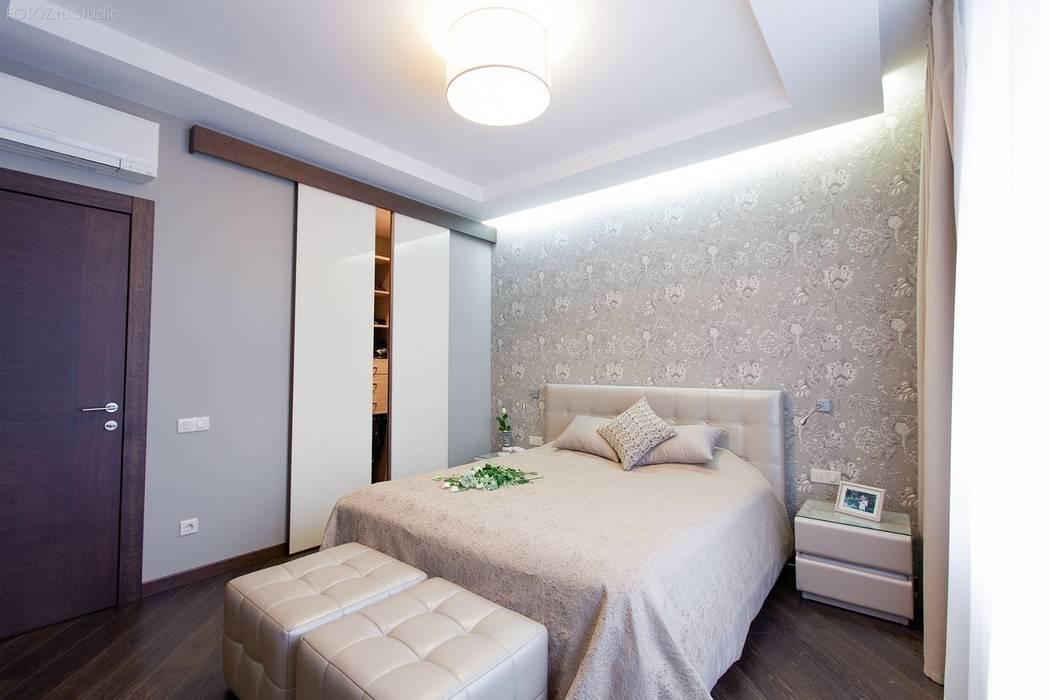 Спальня: Спальни в . Автор – INTERIOR PROJECT studio
