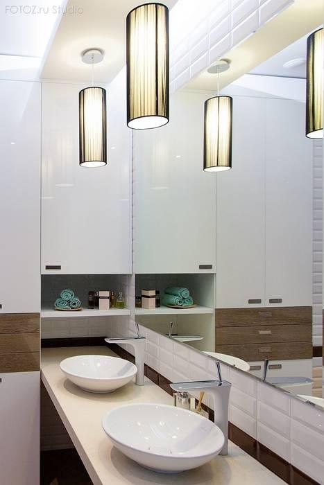 Ванная комната: Ванные комнаты в . Автор – INTERIOR PROJECT studio, Эклектичный
