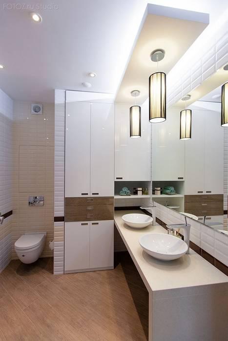 Ванная комната Ванная комната в эклектичном стиле от INTERIOR PROJECT studio Эклектичный