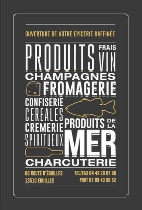 l'Atelier Culinaire, l'épicerie raffinée à Eguilles, près d'Aix en Provence: Restaurants de style  par Agence Design d'Espaces