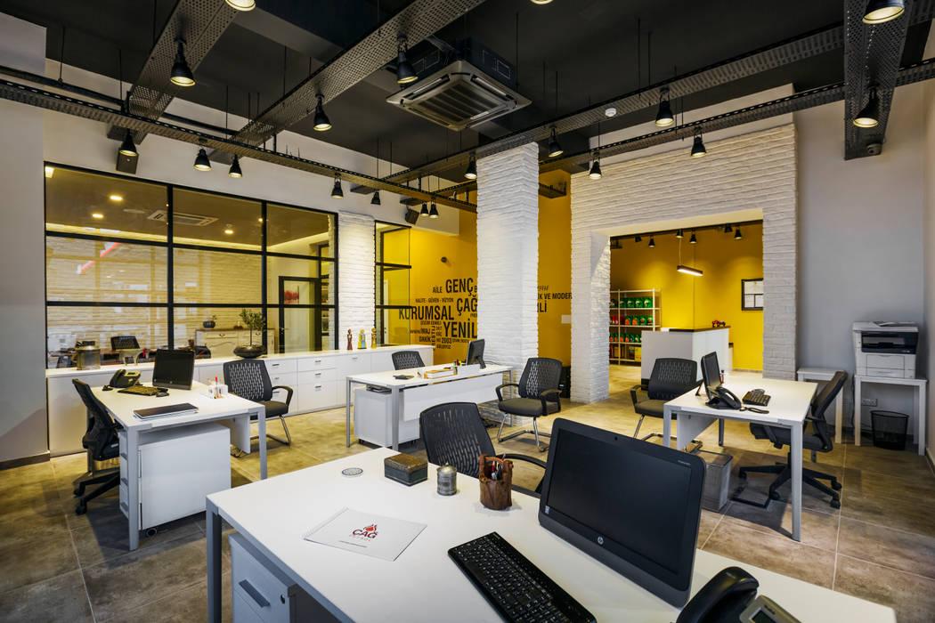 Industrial style office buildings by Kıbrıs Developments Industrial
