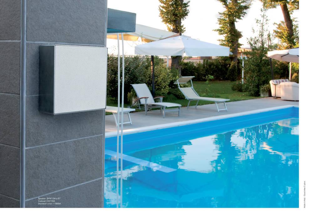 Outdoor Lautsprecher On Wall Garten Von Media Home Hoffmann