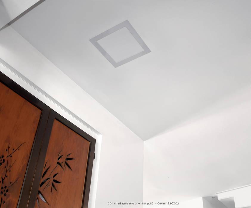 In wall lautsprecher: badezimmer von media & home :: hoffmann | homify