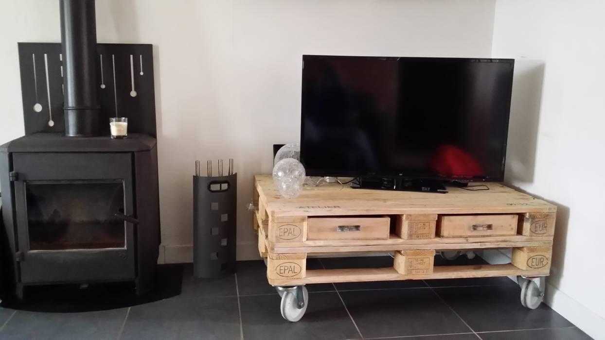 Meuble Tv Palette De Style Par Esprit Loft Recup