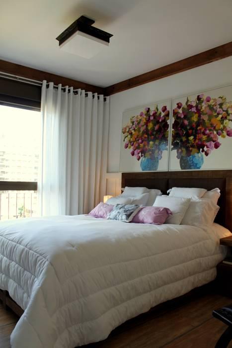 ห้องนอน โดย Mariana M Simoes arquitetura conceitual, ชนบทฝรั่ง