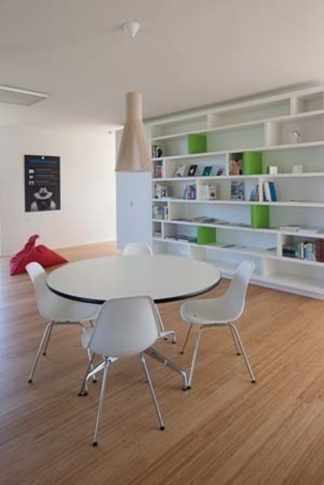 woning te Heverlee hasa architecten bvba Moderne studeerkamer