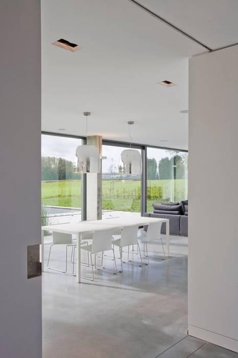 hasa architecten bvba Modern Dining Room