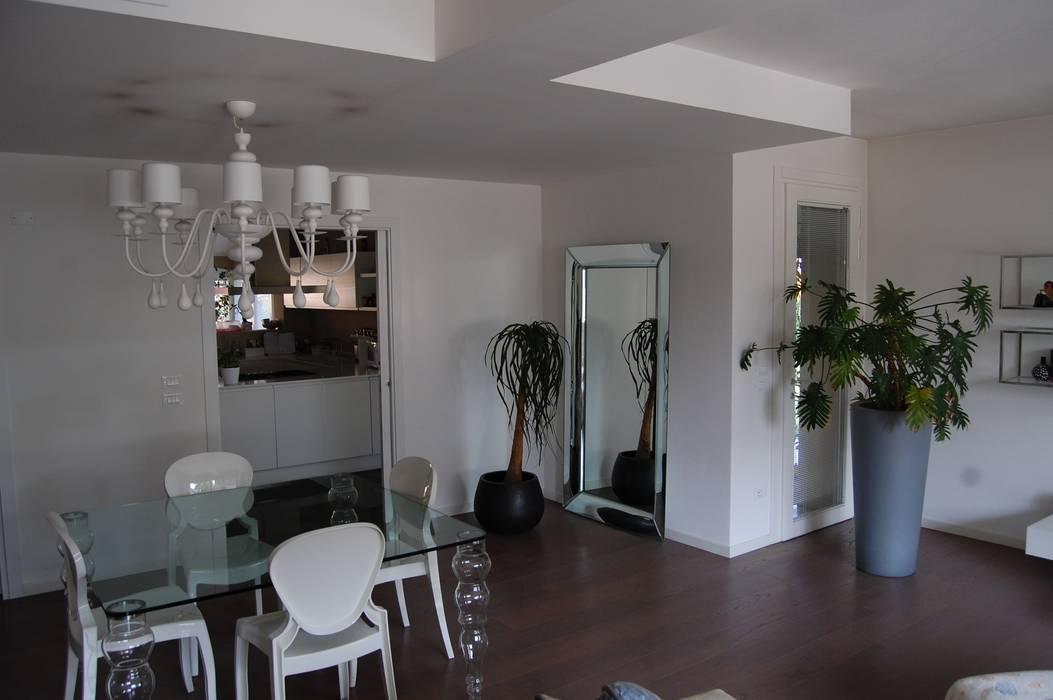 Sala Giorno Moderna.Zona Giorno Sala Da Pranzo In Stile Di Studio 2a G Moderno