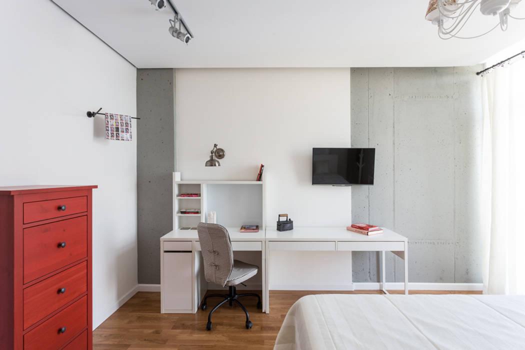 SAZONOVA group Scandinavian style bedroom