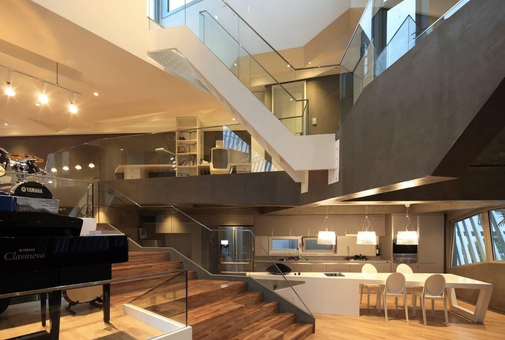 Salon moderne par IROJE KIMHYOMAN Moderne