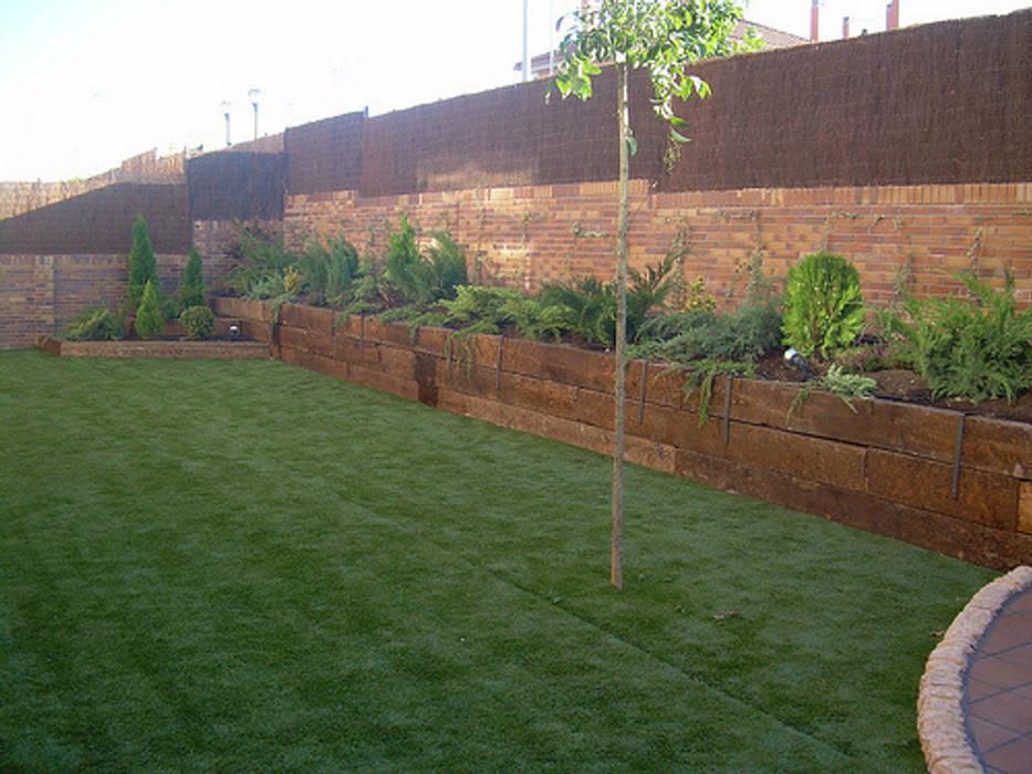 Vườn phong cách mộc mạc bởi contacto36 Mộc mạc