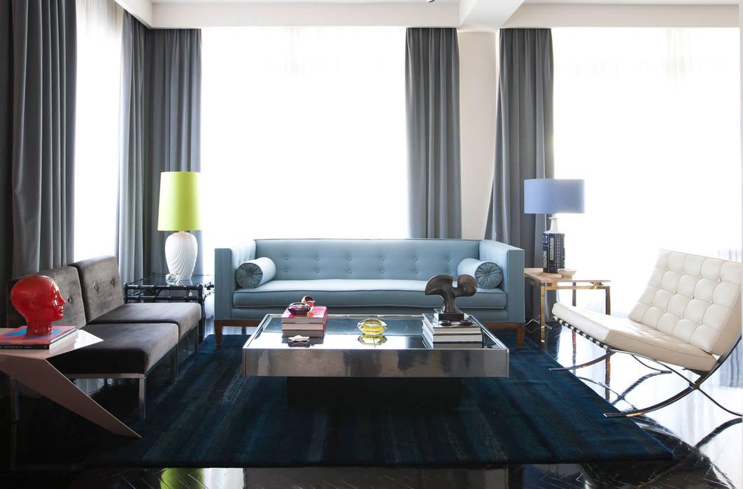 现代客厅設計點子、靈感 & 圖片 根據 homify 現代風